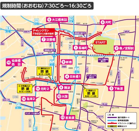 大阪 マラソン スタート 時間